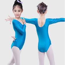 whole kids ballet gymnastics leotards long sleeves for s se performance peion tutu ballet dance tops