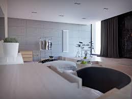 Home Designs: Orange Design Ideas - Studio Apartment Design