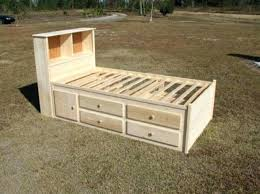 medium size of queen size captain bed frame plans diy storage bedgoing to do this for