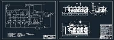 Принципиальная тепловая схема производственно отопительной  Принципиальная тепловая схема производственно отопительной котельной ДКВР 4 13