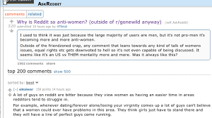 Ways Thread Anti-women 'why Is - The Reddit ' Atlantic Epic Counts So An