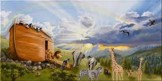 noah s ark painting noahs ark by cheryl allen