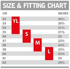 Ruroc Size Chart Ruroc Size Guide