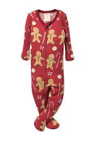 Munki Munki Gingerbread Thermal One Piece Pajamas Baby Hautelook