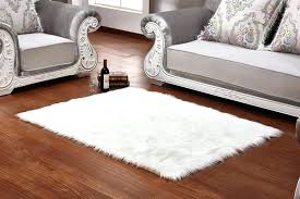 large round white area rug fluffy rugs s big soft sheepskin chair cover warm carpet giant white fur rug