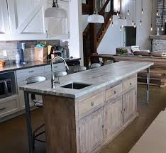 rustic kitchens with islands. Modren Kitchens One Of A Kind Kitchen Island Rustickitchen Inside Rustic Kitchens With Islands N