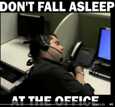 dont fall asleep at the office the top ten reasons