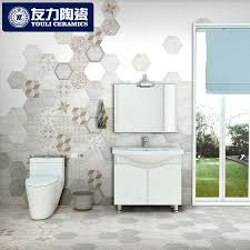 get ations friends of the hexagonal tiles bathroom wall tiles restaurant retro tide pondering antifouling slip bathroom tile