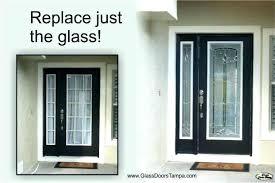 replacement front door glass front door glass inserts entry door glass inserts garage doors entry door