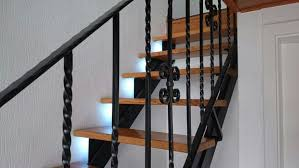 stair lighting. introduction stair lighting with motion detection and following lights