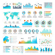 Business Demographics And Statistics Infographic Elements With
