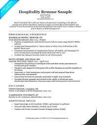 Front Desk Resume Hotel Front Desk Resume Travel Front Desk Manager