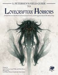 Cthulhu Size Comparison Chart Petersens Field Guide To Lovecraftian Horrors Hardcover