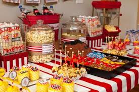 Vintage Movie Boy Girl Family Adult Birthday Party Planning