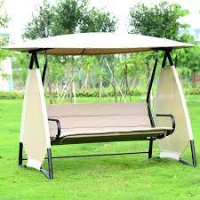 covered garden swing outdoor covered swing bench w canopy seats 3 garden backyard patio hammock chair covered garden