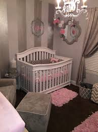 gray white and pink nursery project nursery