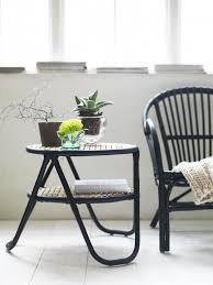 ikea nipprig woven furniture chair side table gardenista