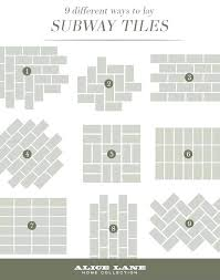 Different Tile Patterns