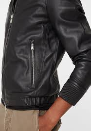 mango livorno leather jacket black men newest mango men competitive