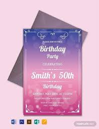 Free Party Invites Templates Great Free Birthday Party Invitation Templates Picture