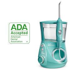 Professional Designer Series Water Flosser Waterpik Water Flosser Electric Dental Countertop Oral Irrigator For Teeth Wp 676 Teal