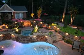 outdoor patio lighting ideas pictures. Outdoor Covered Patio Lighting Ideas With Pool Plus String Light Together Pictures C