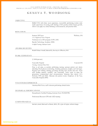 Free Mac Resume Templates Simple Secretary Resume Templates Best
