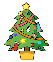 Image result for free christmas tree clipart