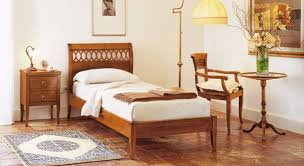 bedroom ideas traditional bedroom with brown mahogany single bed design frame and antique floor