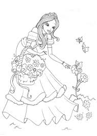 Disney Princess Coloring Pages To Print Rapunzel Unique Lovely