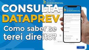 CONSULTA AUXÍLIO EMERGENCIAL DATAPREV - Como saber se receberei! - YouTube