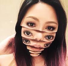 amazing face painting makeup portratis 22