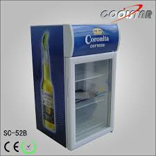 china tabletop glass door refrigerator with lightbox china refrigerator cooler