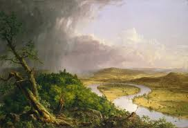 thomas cole 1801 1848 the oxbow view from mount holyoke northampton massachusetts after a thunderstorm 1836 the metropolitan museum of art