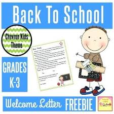Welcome Back To School Letter Templates Green Laurel Welcome Letter To Parents School Letters A Use This