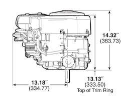 small engine surplus com briggs stratton hp briggs stratton 23 hp 445577 1511
