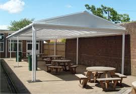 outdoor dining canopies for schools