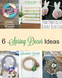 6 beautiful spring decor ideas