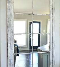 Mirrors That Look Like Window Panes Arched Mirrors That Look Like