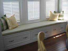 Window Seat Decorating Inspiring Bay Window Seat Ideas With Nice Storage