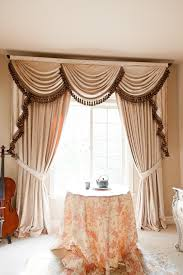 living room curtains with valance. Swag Curtains For Living Room Also Window Curtain Panels Pleated With Valance