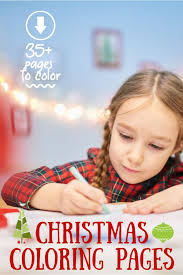 Show them the proper way how to color. 35 Best Festive Free Printable Christmas Coloring Pages For Kids Kab