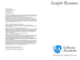 Sample Cover Letter For Tradesmen Sample Cover Letters For Resume