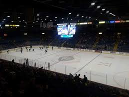 Santander Arena Section 103 Row V Seat 2 Reading Royals