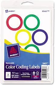 Use color wisely as it can bring a sense of familiarity to people. Amazon Com Avery 5407 Printable Removable Color Coding Labels 1 1 4 Inch Dia Assorted Borders 400 Bx Furniture Decor