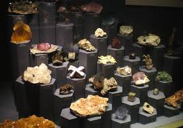 Mineral Display Stands Lyman Museum Mineral Display 34