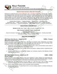 bunch ideas of english teacher sample resume for your template - High  School Teacher Resume Samples
