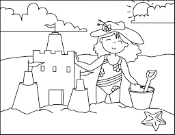 entranching incredible free printable summer coloring for s printable beach coloring pages summer coloring pages printable