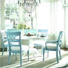 Round Dining Table Decor Coastal Cottage Set Furniture