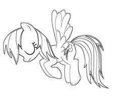 Small Picture Rainbow Dash Coloring Pages Cartoon Coloring Pages Pinterest